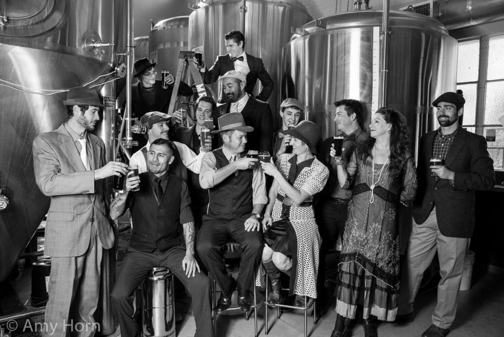 The awesome crew of Mother Road Brewing
