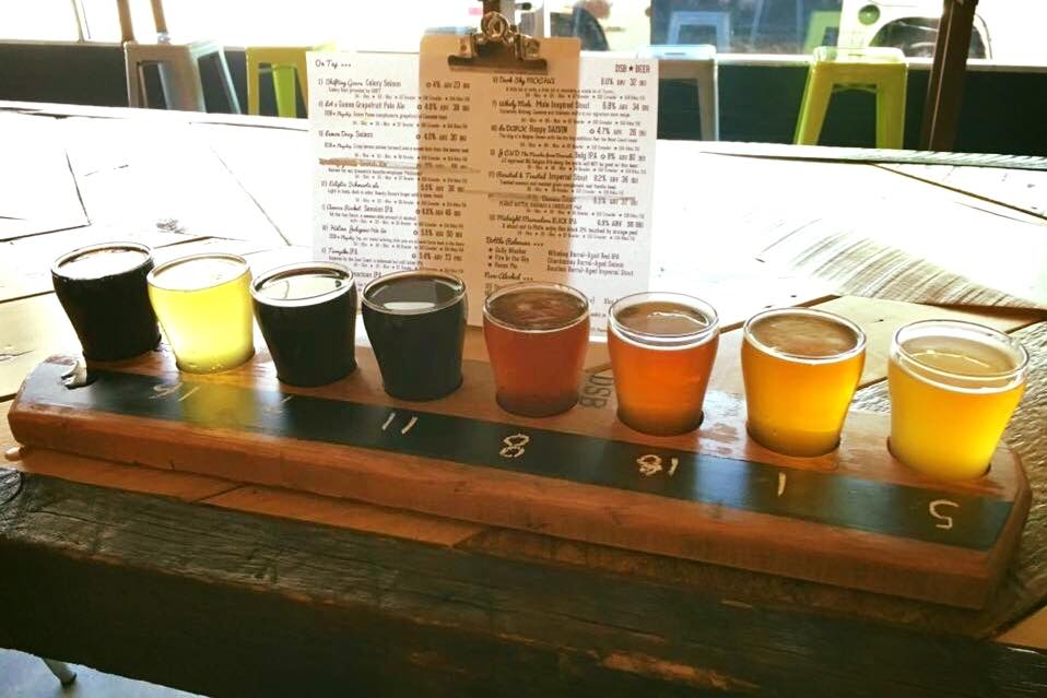 Dark Sky Brewing has over 17 beers on tap