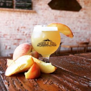 Sapid IPA with Peaches