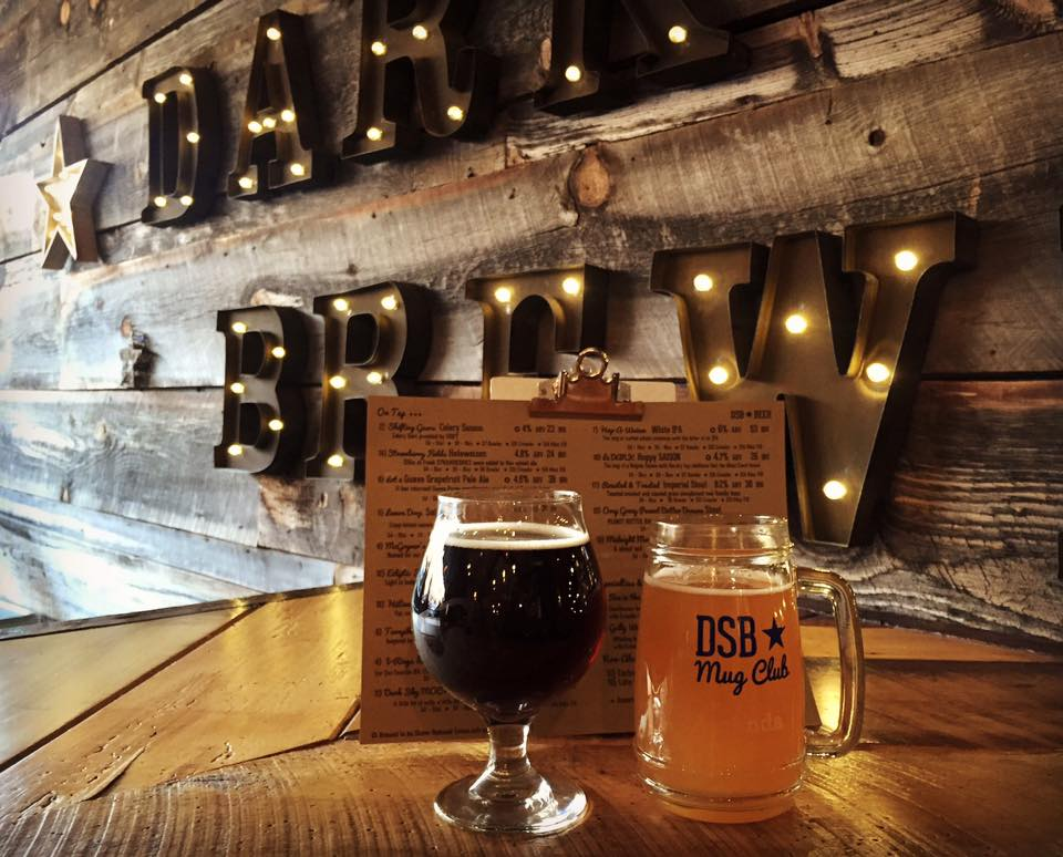 The Tap Room at Dark Sky Brewing is a great destination to visit