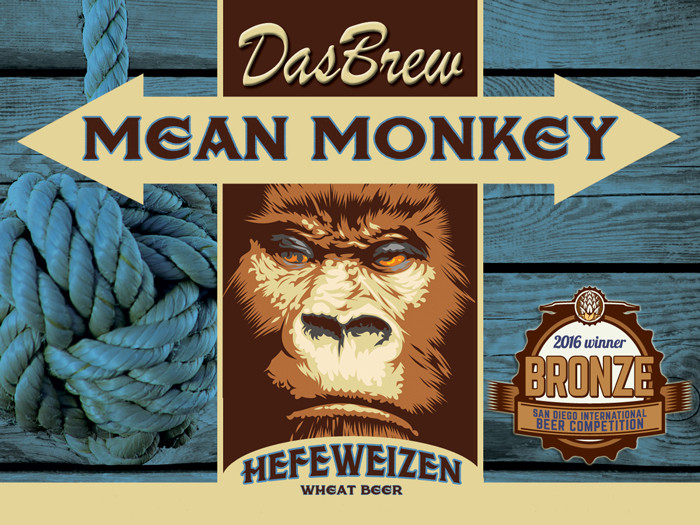DasBrew Mean Monkey Hefeweizen
