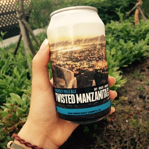 Dry. Bright. Aromatic. Twisted Manzanita Prospect Pale Ale.