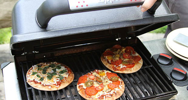 These delicious pizzas are one of five quick grilling recipes to beat the heat