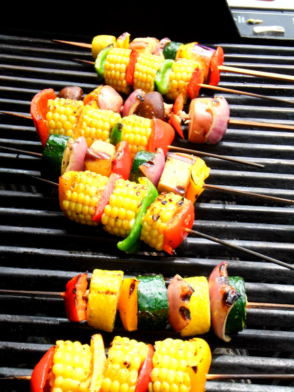 Click here to see Proud Italian Cook's recipe for Grilled Vegetable Skewers</a