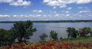 Stratocumulus Clouds above Fall River State Park in Kansas
