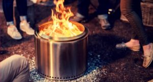 A mighty fine portable fire pit.