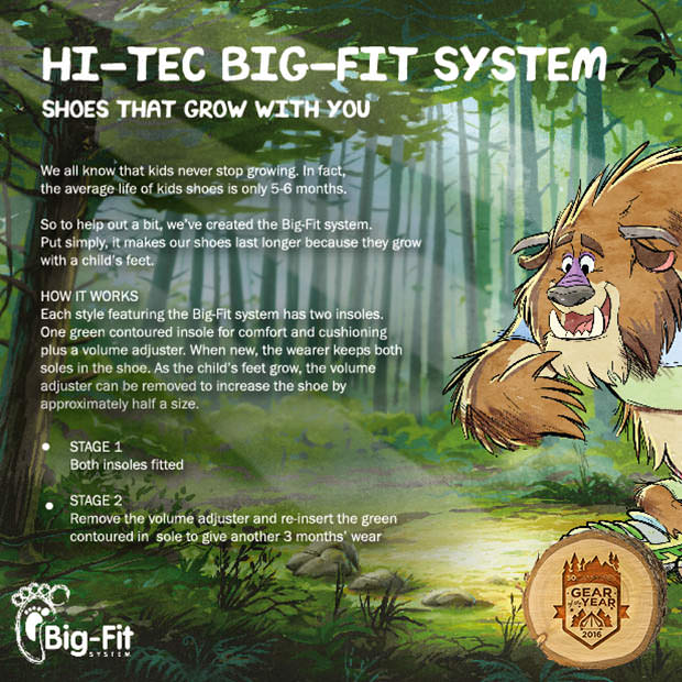 Hi-Tec Big-Fit