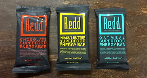 redd superfood energy bars