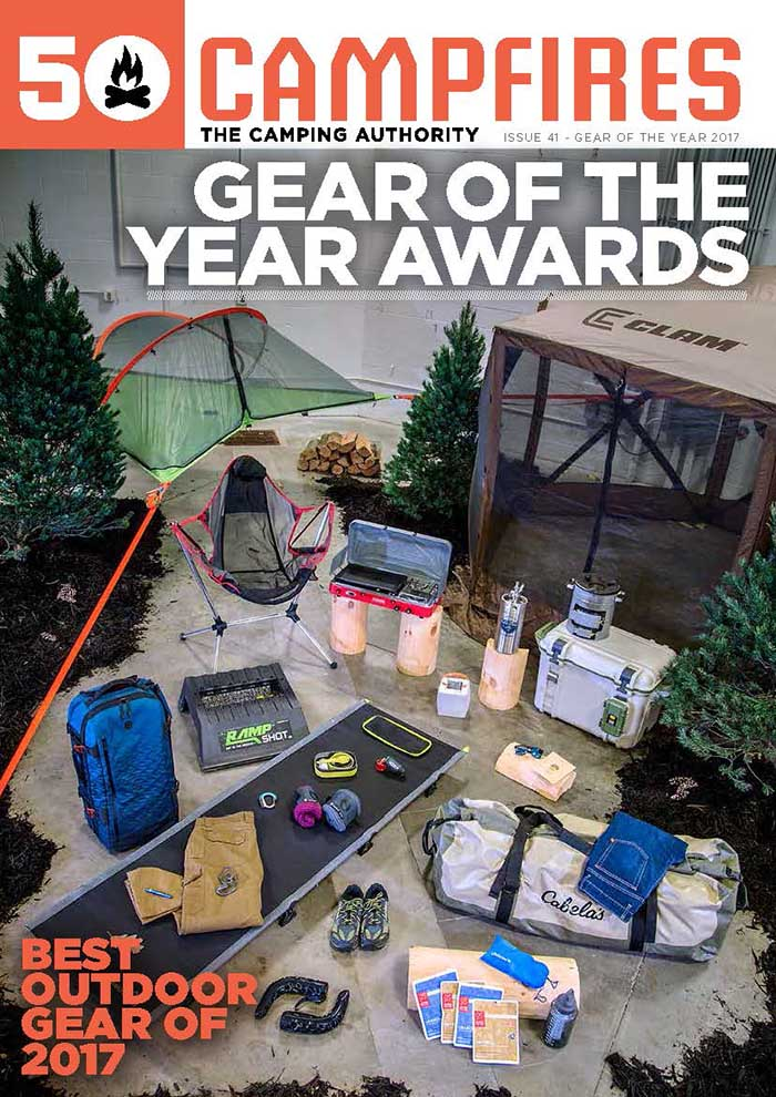 cover of Special 50 Campfires Gear Of The Year Edition for 2017