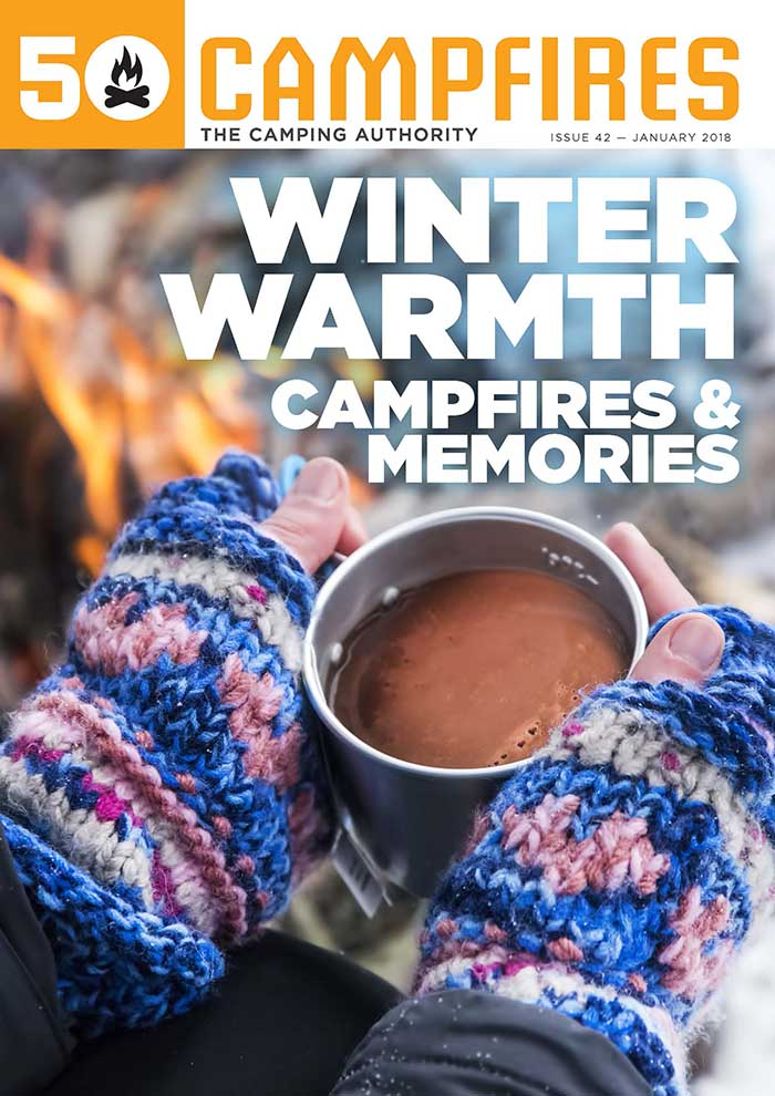 cover of 50 Campfires January 2018 issue