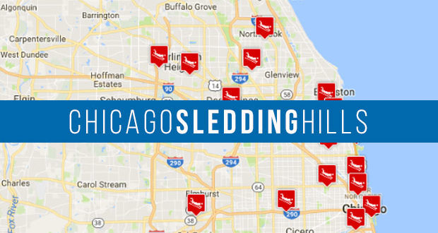 Best Chicago Sledding Hills