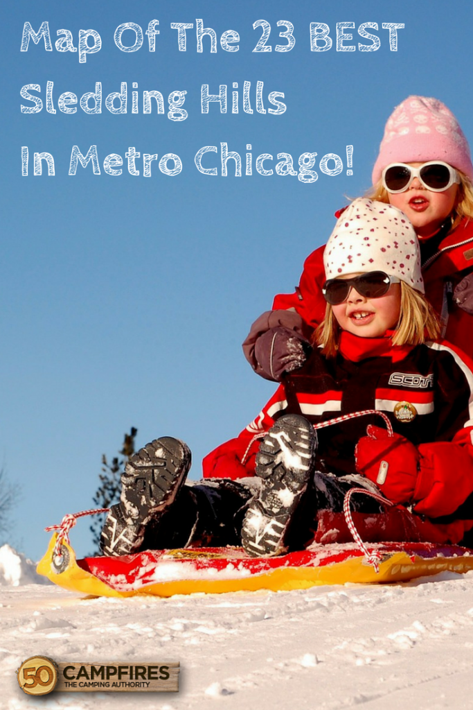 sledding hills in metro chicago