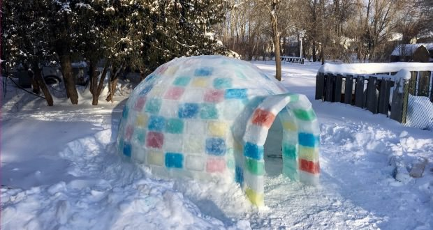 step by step instructions to build an ice block igloo 50. Black Bedroom Furniture Sets. Home Design Ideas