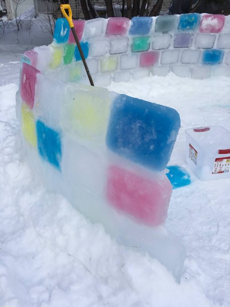 Step By Step Instructions To Build An Ice Block Igloo 50