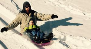 sledding hills in metro Detroit