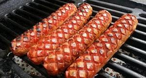 Slotdog Review: This tool creates slots in skinless hotdogs to allow more caramelization and plumping.