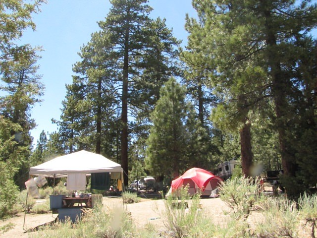 25 best campgrounds within 2 hours of Riverside San