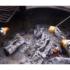 Roast campfire biscuit cups on a variety of types of sticks.