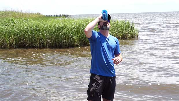 What I Learned By Drinking Only Mississippi River Water For A Week 50 Campfires