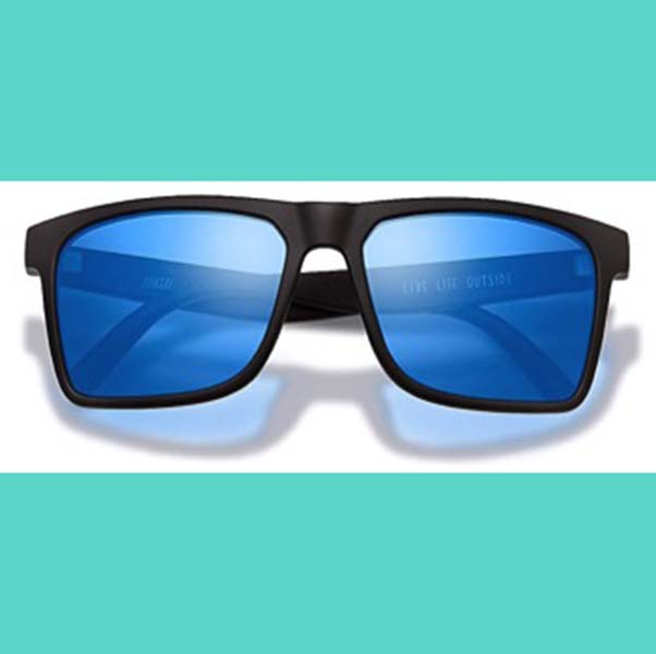 A new pair of Sunski: Taraval sunglasses.