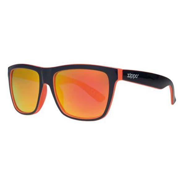 A pair of Zippo Orange Oversized Sunglasses
