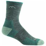 product shot of Darn Tough Women's Hiker Sock against white background