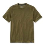 prdouct shot of L.L. Bean Basecamp Merino-Blen Tee shirt against white background