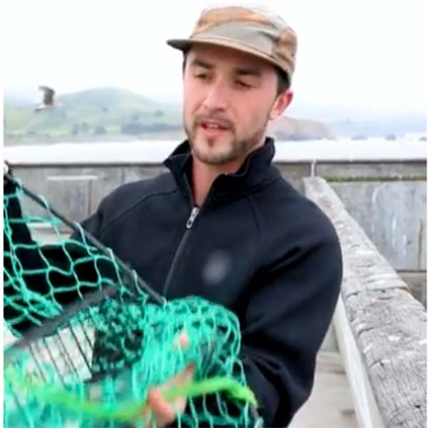 This Airbnb experiences will take you crab fishing on a pier in San Francisco.