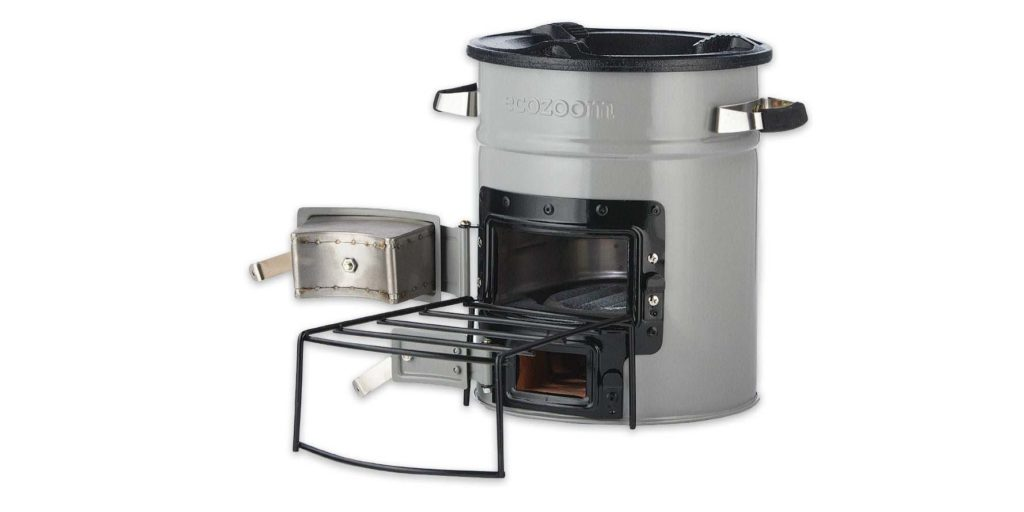 Ecozoom Versa rocket stove and accessories