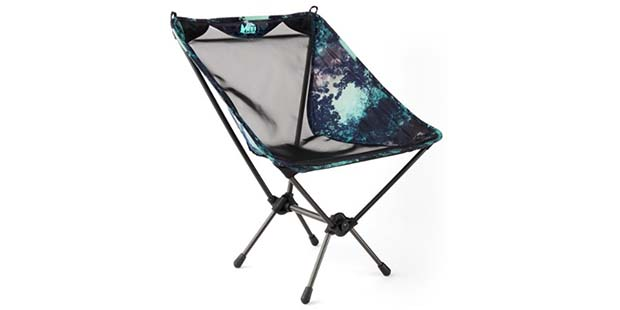 REI Flexlite Chair for camping