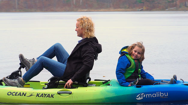The Last Of The Open Water Mother Daughter Fall Kayaking Trip