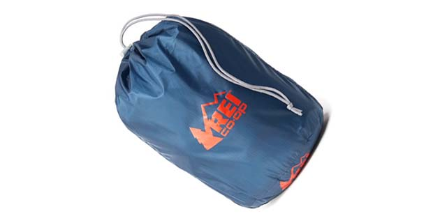 REI Flash Pillow Stuff Sack is a pillow and a stuff sack