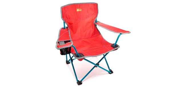 REI Kids Camp Chair is great under the tree - any tree!