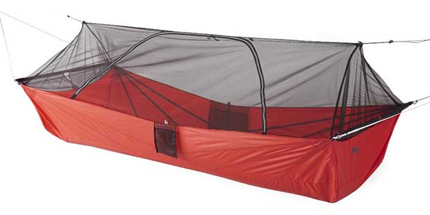 Quarter Dome Air Hammock in red
