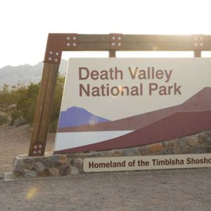 Camping doesn't get any more desert than in Death Valley National Park