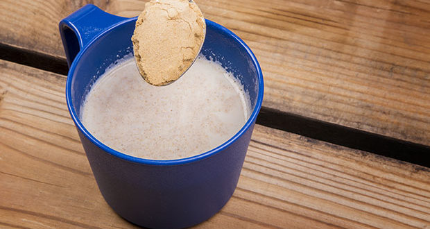 Use mesquite flour as a substitute for cocoa powder in this hot beverage.
