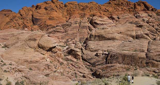 Any wonder how Red Rock Canyon gets its name?