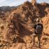 Hiking in Valley of Fire State Park in Nevada