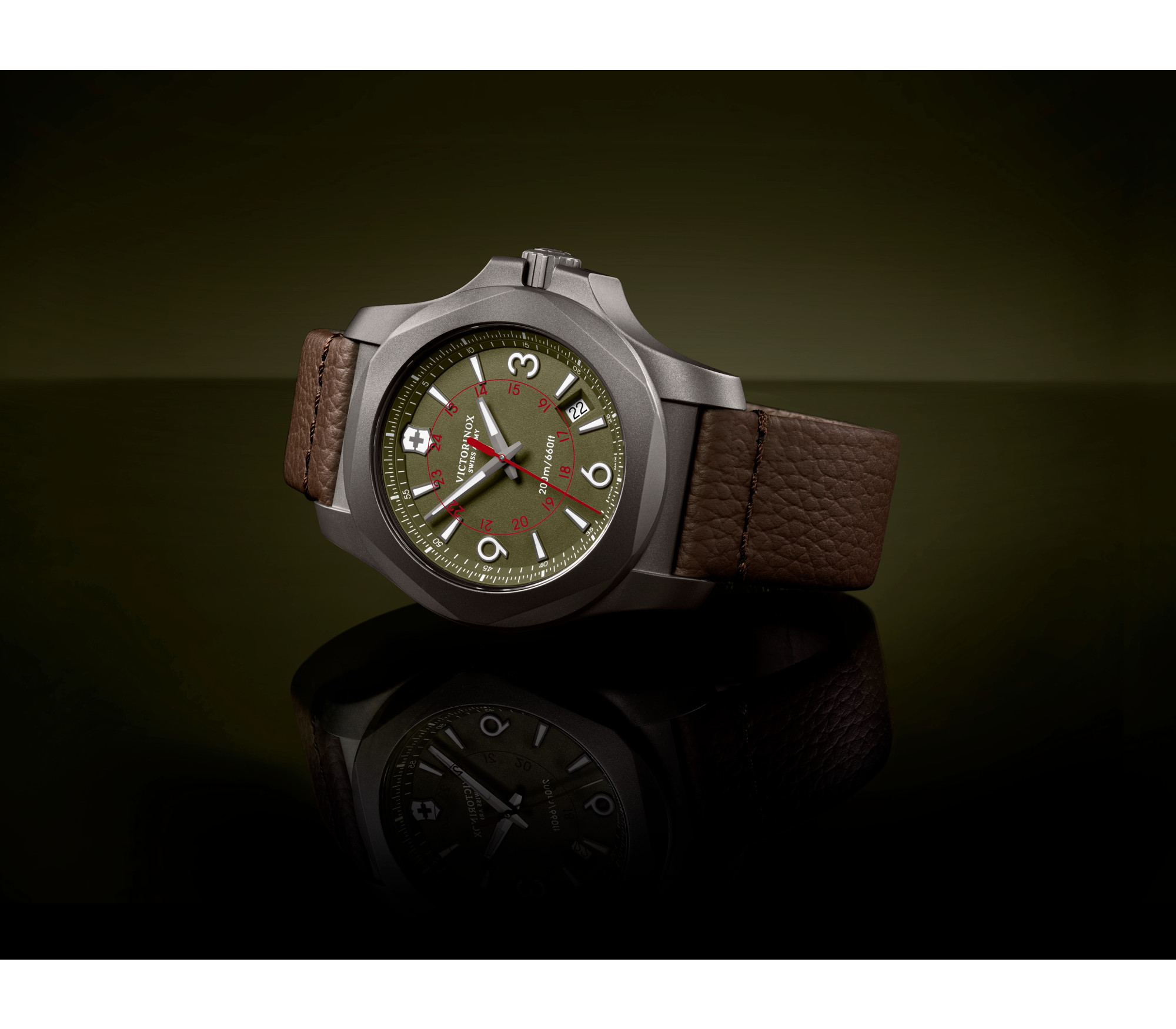 The Victorinox Swiss Army I N O X Titanium Watch 50