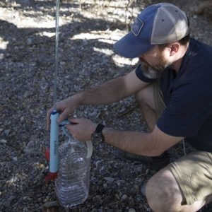 Back in camp, the LifeStraw Mission was a godsend. It filters water 24/7 while you're out and about.
