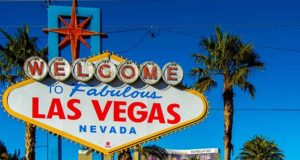 There are great outdoor activities and destinations within an easy hour's drive of the famous welcome to Las Vegas sign.