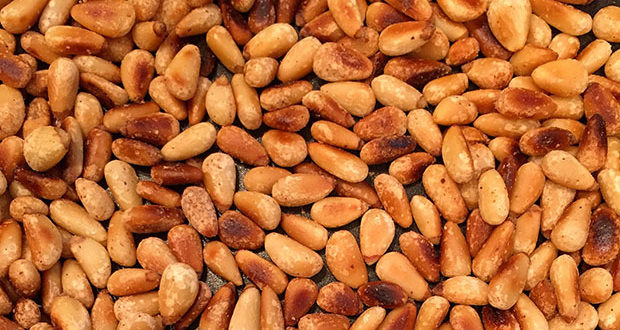 Toasted pine nuts are delicious ingredients. Pinyon Pine Nuts are off the charts.