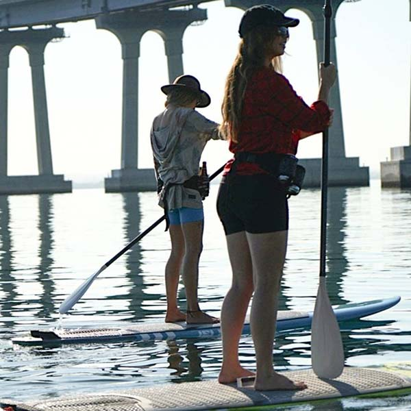 airbnb experiences stand up paddle boarding and brewery tour - what could be better than that?