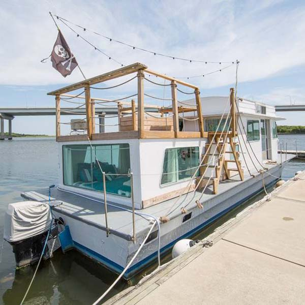 Airbnb experience in South Carolina is nights on the water living like a pirate.