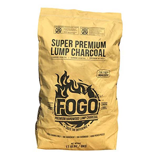 Lump charcoal works best for winter grilling because it produces higher temperatures.