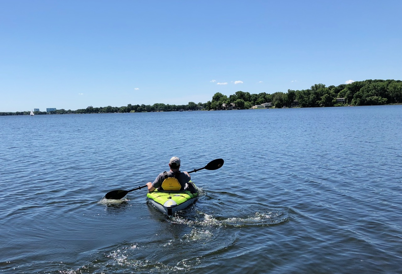 Advanced Elements Ultralight Kayak : Review - 50 Campfires