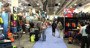 Show floor at Summer OR Show is a busy place.