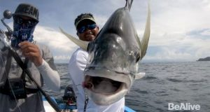 BeAlive Angler Expedition Costa Rica fishing