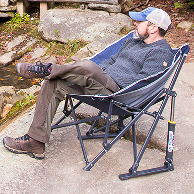 GCI Podrocker camping chair