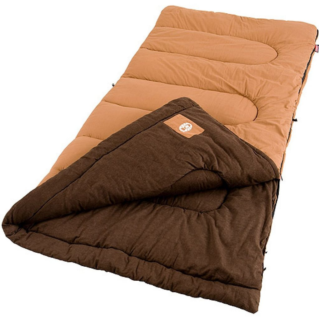 coleman cold weather sleeping bag
